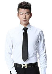男士长袖衬衣工装定制