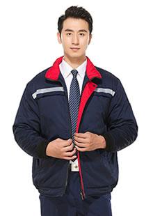 冬季棉服夹克工装定制图案