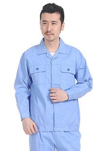 纯色夏季长袖工装定制价格
