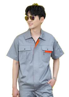 夏季短袖工装薄款工作服